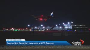 Final evacuees from Wuhan, China arrive at CFB Trenton