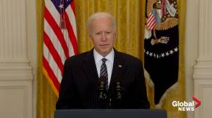 Biden announces U.S. has administered 100M COVID-19 vaccine doses in only 58 days (02:29)