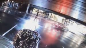 Abbotsford police release video of hit and run (00:33)