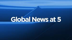 Global News at 5 Edmonton: October 22 (10:55)