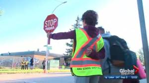 Edmonton students head back to school