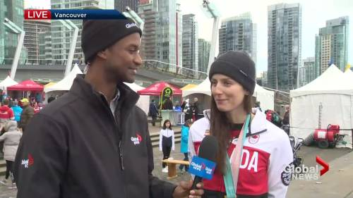 2010 Vancouver Winter Games celebration underway at Jack Poole Plaza | Watch News Videos Online