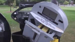 Parking meters vandalized in Cobourg