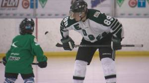 Annual 24-hour hockey game for Matt Cook Foundation goes ahead (04:53)