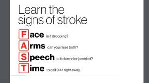 What you need to know about recognizing the signs of a stroke