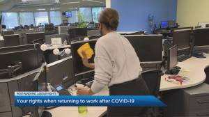 Your rights when returning to work after COVID-19 (04:55)
