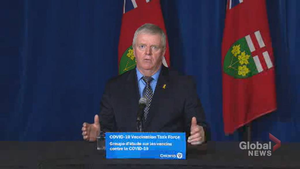 Click to play video 'Coronavirus: Hillier says no 'specific threats' identified as Ontario prepares to begin COVID-19 vaccine roll-out'