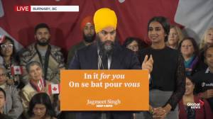 Federal Election 2019: Jagmeet Singh calls for more respect for First Nations