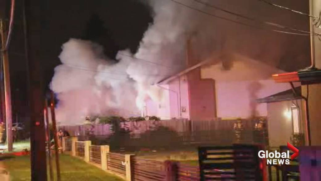 'At slightest  2  radical   wounded  successful  Burnaby location   fire'