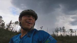 This Is BC: Man cycles from the U.S. border to the far north to raises thousands for mental health (02:27)