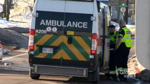 Ambulances diverted in New Brunswick (01:59)