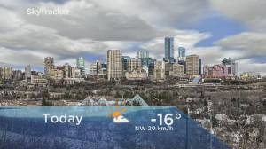 Edmonton early morning weather forecast: Thursday, January 9, 2020