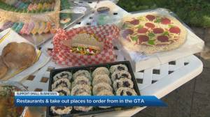 Restaurants and take-out places to order from in the GTA