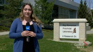 Inside the Roy Romanow Provincial Laboratory conducting coronavirus tests in Saskatchewan