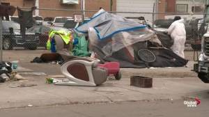 City of Edmonton explains its multi-agency approach to dismantling homeless camps