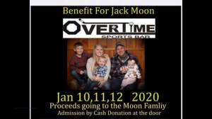 Three day music charity concert will benefit family of Jack Moon