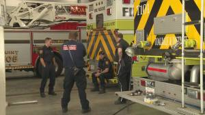 Coaldale and Lethbridge fire departments discuss mental health supports (01:56)