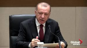 Turkey hits back after Syrian shells kill Turkish troops (01:50)