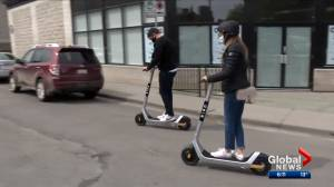 E-scooters return to Calgary for summer of 2021 (02:30)