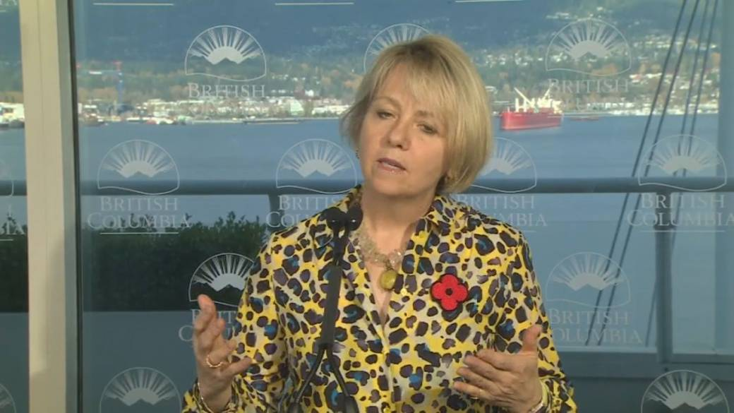 Click to watch video 'Coronavirus: British Columbia imposes 2-week regional ban on social gatherings and indoor activities'