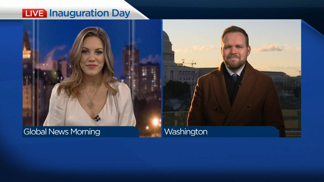 Click to play video 'What to expect for Inauguration Day'
