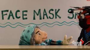 Blood Tribe Reserve uses puppets to deliver COVID-19 messaging to children (02:05)