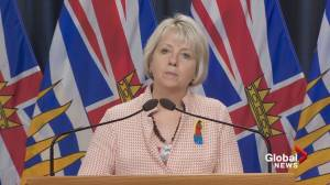 B.C. reports 199 new COVID-19 cases, along with two new deaths (02:00)