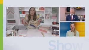 Earth Day craft ideas to upcycle old books (06:33)