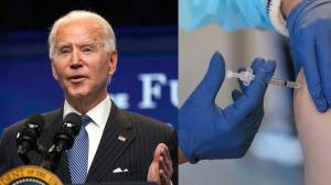 Coronavirus: Biden says he hopes to reach 1.5 million daily COVID-19 vaccinations within weeks (07:19)
