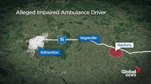 Alberta paramedic charged with impaired driving while on duty (01:14)