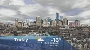 Edmonton early morning weather forecast: Wednesday, January 8, 2020