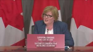 Ottawa extends CERB, changes EI, unveils new benefit programs (03:52)