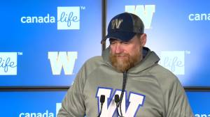 RAW: Blue Bombers Mike O'Shea Media Briefing – Oct. 23
