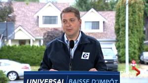 Federal Election 2019: Scheer says Trump 'ran the table' on Trudeau regarding CUSMA