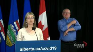 Over 30% of Albertans have received 2 doses of COVID-19 vaccine (01:54)