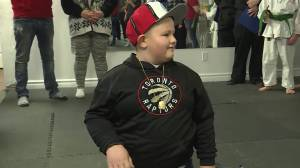 Make-A-Wish foundation grants Brockville boy's wish to see Raptors game