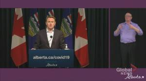 Alberta health minister says province has capacity for COVID-19 vaccine rollout but faces shipment restrictions (02:14)