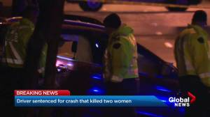 Surrey driver who killed two women is sentenced