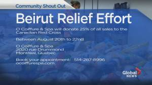 Community Events: Beirut Relief Effort