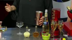 Holiday cocktails with Fairmont Hotel Macdonald