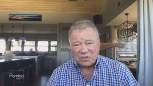 Canadian TV exclusive with William Shatner