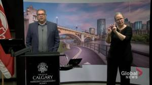 Nenshi explains cancellations in Calgary until June 30