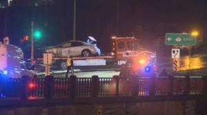 New details emerging in Brunette overpass crash that injured family (01:30)