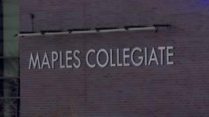 Maples Collegiate principal steps up (01:46)