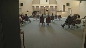 In-person religious services resume in B.C. (02:03)