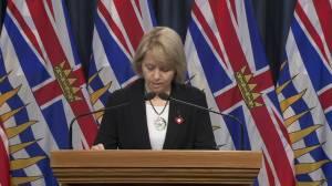 B.C.'s top doctor on continuing to take precautions amid coronavirus outbreak