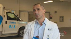 Toronto-area doctor describes the front lines in wake of coronavirus pandemic