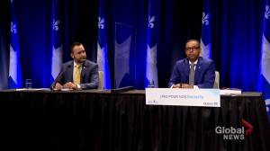 Quebec government reacts to Laurent Commission report (02:12)