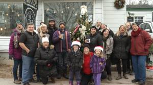 A community comes together to replace and decorate a stolen Christmas Tree