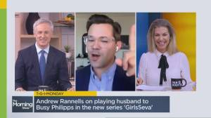 Actor Andrew Rannells talks about 'Girls5eva' and 'Black Monday' (07:26)